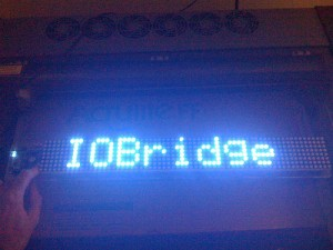 XBee Wireless LED Sign