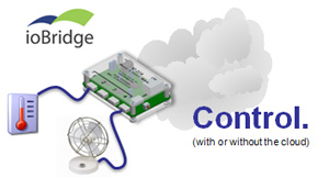ioBridge Control with or without the Cloud