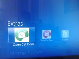 Windows Home Server Interface