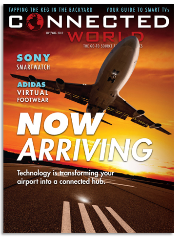 Connected World Magazine Cover