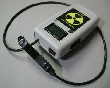 Internet-connected Geiger Counter