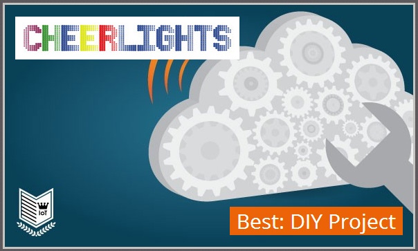 Best Internet of Things Project by ioBridge CheerLights 2012