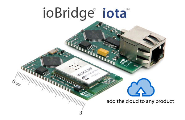 ioBridge Iota Wi-Fi and Ethernet modules for the Internet of Things, Connected Products