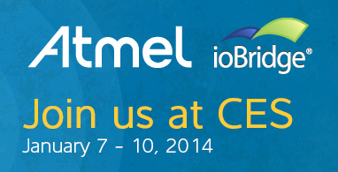 Atmel and ioBridge at CES 2014