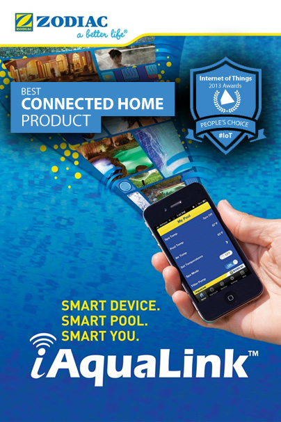 Postscapes IoT Winner Zodiac Pool Systems