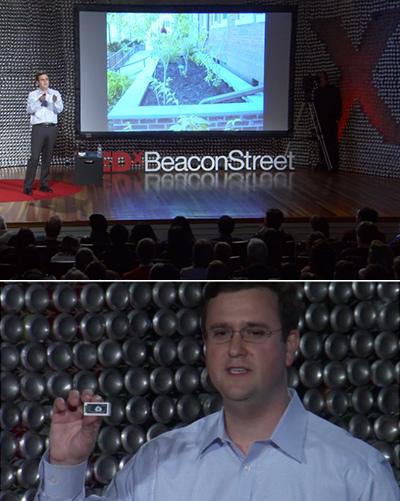 TEDx Talk Geosyntec ioBridge Wi-Fi IoT